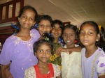 Some of the Young Hope children in their bedroom